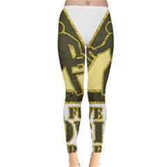 Save A Fuse Blow An Electrician Leggings  by FunnyShirtsAndStuff