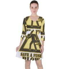 Save A Fuse Blow An Electrician Ruffle Dress