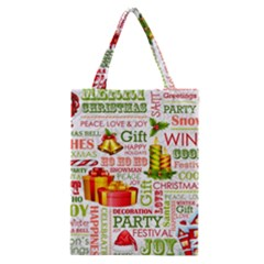 The Joys Of Christmas Classic Tote Bag by AllThingsEveryone