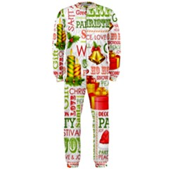 The Joys Of Christmas Onepiece Jumpsuit (men)  by allthingseveryone