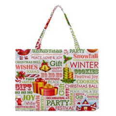 The Joys Of Christmas Medium Tote Bag by AllThingsEveryone