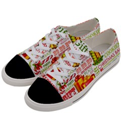 The Joys Of Christmas Women s Low Top Canvas Sneakers by AllThingsEveryone