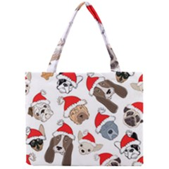 Christmas Puppies Mini Tote Bag by AllThingsEveryone