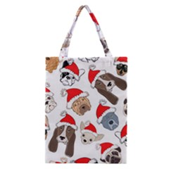Christmas Puppies Classic Tote Bag by AllThingsEveryone
