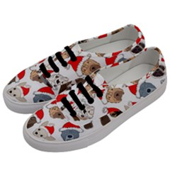 Christmas Puppies Men s Classic Low Top Sneakers by AllThingsEveryone