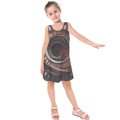 The Thousand And One Rings Of The Fractal Circus Kids  Sleeveless Dress