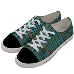 Freedom Is Every Where Just Love It Pop Art Women s Low Top Canvas Sneakers by pepitasart