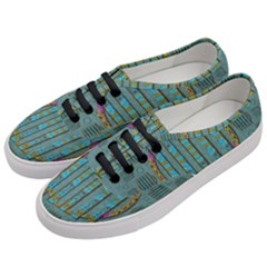 Freedom Is Every Where Just Love It Pop Art Women s Classic Low Top Sneakers by pepitasart
