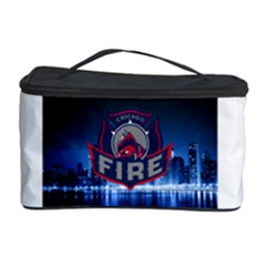Chicago Fire With Skyline Cosmetic Storage Case by allthingseveryone