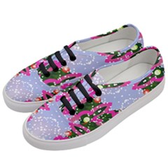 Seamless Tileable Pattern Design Women s Classic Low Top Sneakers by Celenk