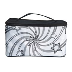 Star Christmas Pattern Texture Cosmetic Storage Case by Celenk