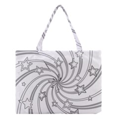 Star Christmas Pattern Texture Medium Tote Bag by Celenk