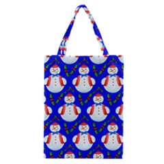 Seamless Repeat Repeating Pattern Classic Tote Bag by Celenk
