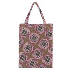 Pattern Texture Moroccan Print Classic Tote Bag by Celenk