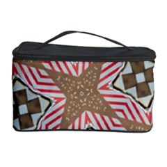 Pattern Texture Moroccan Print Cosmetic Storage Case by Celenk