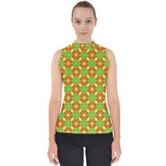 Pattern Texture Christmas Colors Shell Top