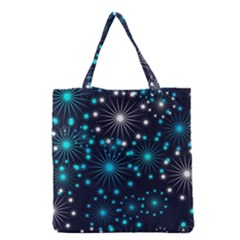 Wallpaper Background Abstract Grocery Tote Bag by Celenk