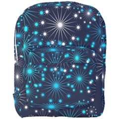 Wallpaper Background Abstract Full Print Backpack by Celenk
