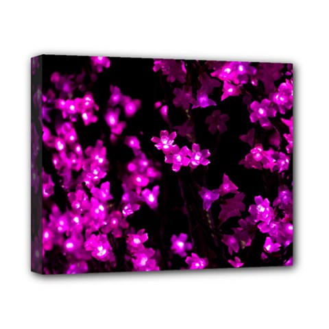 Abstract Background Purple Bright Canvas 10  X 8  by Celenk