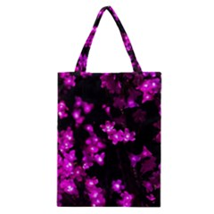 Abstract Background Purple Bright Classic Tote Bag by Celenk