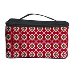 Christmas Wrapping Paper Cosmetic Storage Case by Celenk