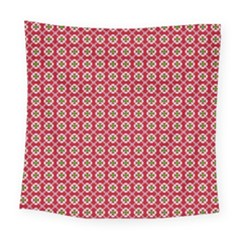 Christmas Wrapping Paper Square Tapestry (large) by Celenk