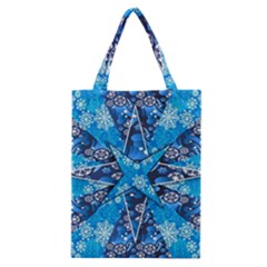 Christmas Background Wallpaper Classic Tote Bag by Celenk