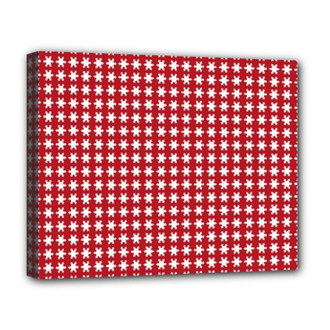 Christmas Paper Wrapping Paper Deluxe Canvas 20  X 16   by Celenk