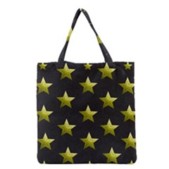 Stars Backgrounds Patterns Shapes Grocery Tote Bag by Celenk