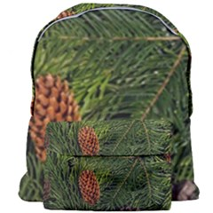 Branch Christmas Cone Evergreen Giant Full Print Backpack