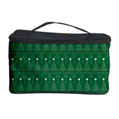 Christmas Tree Pattern Design Cosmetic Storage Case by Celenk