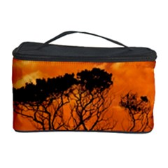 Trees Branches Sunset Sky Clouds Cosmetic Storage Case by Celenk