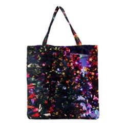 Abstract Background Celebration Grocery Tote Bag by Celenk