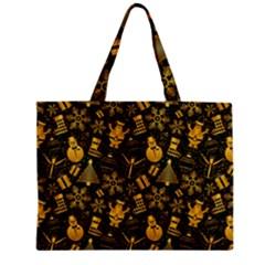 Christmas Background Zipper Mini Tote Bag by Celenk