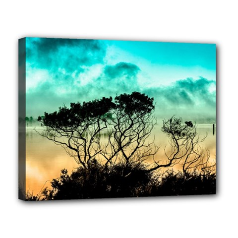 Trees Branches Branch Nature Canvas 14  X 11  by Celenk