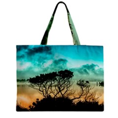 Trees Branches Branch Nature Medium Tote Bag by Celenk