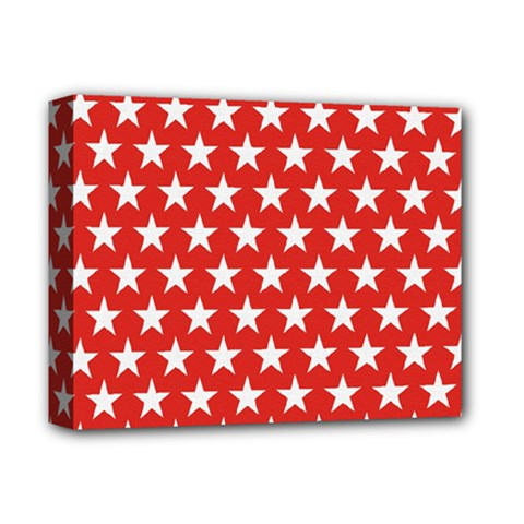 Star Christmas Advent Structure Deluxe Canvas 14  X 11  by Celenk