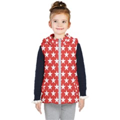 Star Christmas Advent Structure Kid s Puffer Vest by Celenk