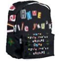 Santa s note Giant Full Print Backpack View3