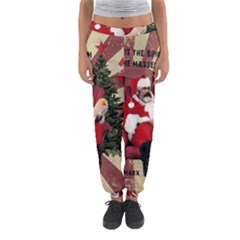 Karl Marx Santa  Women s Jogger Sweatpants by Valentinaart