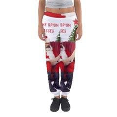 Karl Marx Santa  Women s Jogger Sweatpants