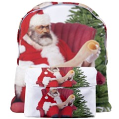 Karl Marx Santa  Giant Full Print Backpack by Valentinaart
