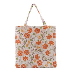Honeysuckle Delight Grocery Tote Bag by allthingseveryone