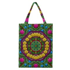 Bohemian Chic In Fantasy Style Classic Tote Bag by pepitasart