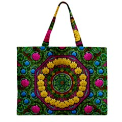 Bohemian Chic In Fantasy Style Zipper Mini Tote Bag by pepitasart