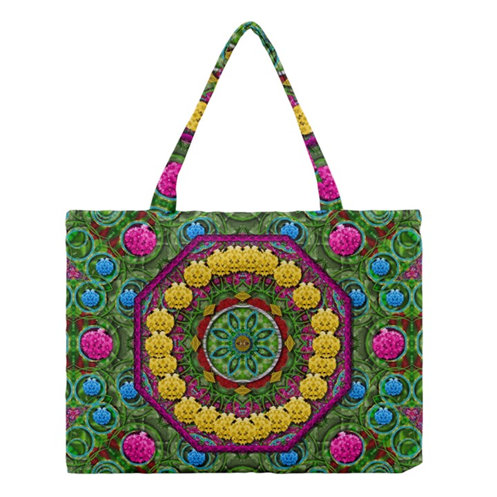 Bohemian Chic In Fantasy Style Medium Tote Bag