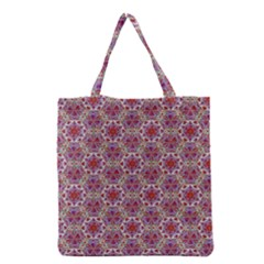 Star And Crystal Shapes 01 Grocery Tote Bag by Cveti