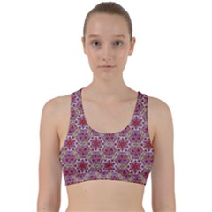 Star And Crystal Shapes 01 Back Weave Sports Bra