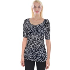 Meeting Places Wide Neckline Tee