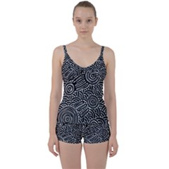 Meeting Places Tie Front Two Piece Tankini